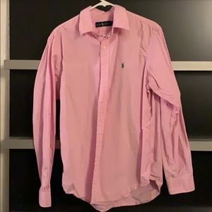 Pink and white Ralph Lauren Button Up